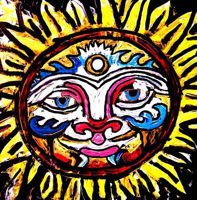 Painting - Sol Horizon Band by Neal Barbosa
