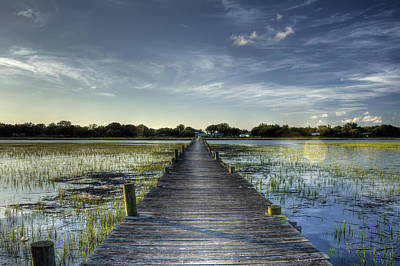 Sol Photograph - Sol Legare Dock Charleston Sc by Dustin K Ryan
