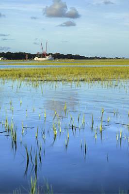 Shrimp Boat Photograph - Sol Legare Shrimp Boat by Dustin K Ryan