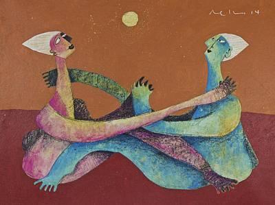 Couple Mixed Media - Sol No. 2  by Mark M  Mellon
