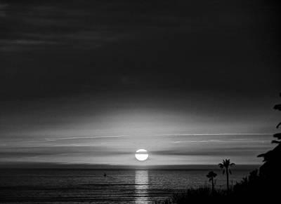 Sol  O  Luna  Paseo Del Mar Art Print by Joe Schofield