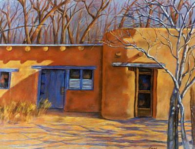 Pastel - Sol Y Sombre by Ann Peck