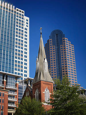 Photograph - Solace In Charlotte N C by Mary Lee Dereske