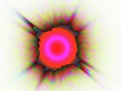 Digital Art - Solar Blast  by Ronald Irwin