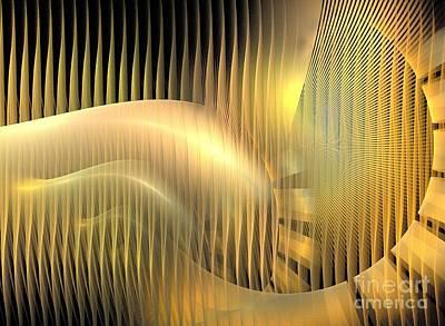 Solar Chaise Art Print by Kim Sy Ok