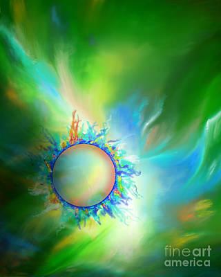 Novak Painting - Solar Corona by Kathryn L Novak