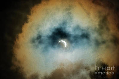 Photograph - Solar Eclipse 2017 by David Arment