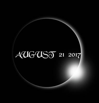 Photograph - Solar Eclipse 2017 by Ericamaxine Price