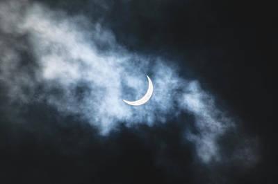 Photograph - Solar Eclipse 2017 by Jason Coward