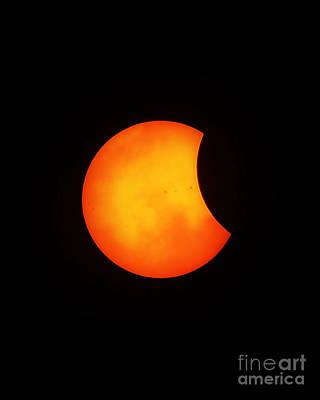 Photograph - Solar Eclipse 2017 by Kelly Nowak