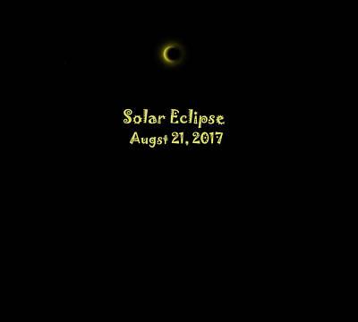 Digital Art - Solar Eclipse by Cathy Harper