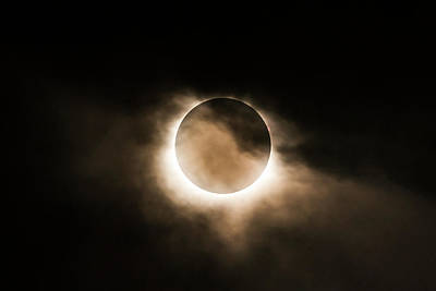Photograph - Solar Eclipse II by Ryan Heffron
