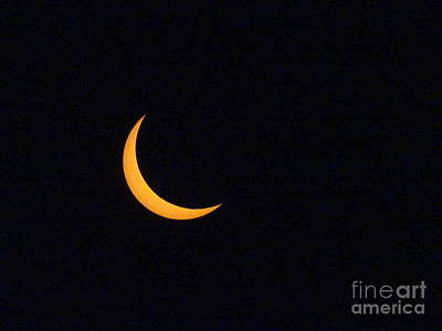 Photograph - Solar Eclipse by Paul Wilford