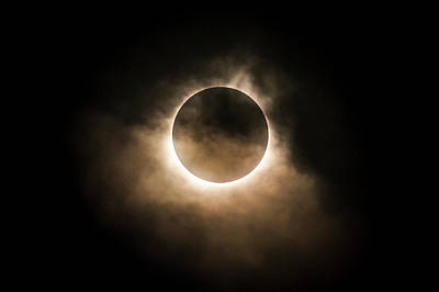 Photograph - Solar Eclipse by Ryan Heffron