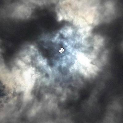 Photograph - Solar Eclipse South Of The Border by Tina Ernspiker