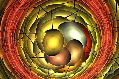 Digital Art - Solar Eggs by Kim Sy Ok