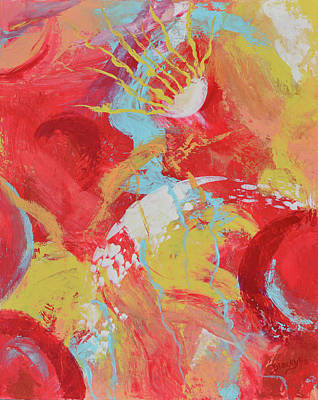 Painting - Solar Flare by Donna Blackhall