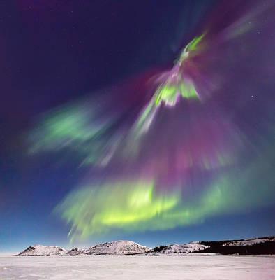 Photograph - Solar Flares by Sigurdur William Brynjarsson