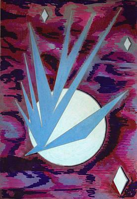 Drawing - Solar Hawke #9 by J R Seymour