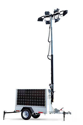 Photograph - Solar Light Tower by Olivier Le Queinec