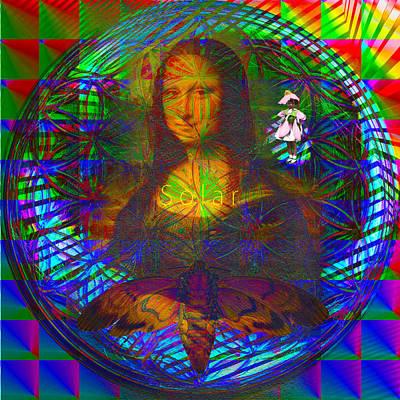 Solar Mona Lisa Original by Joseph Mosley