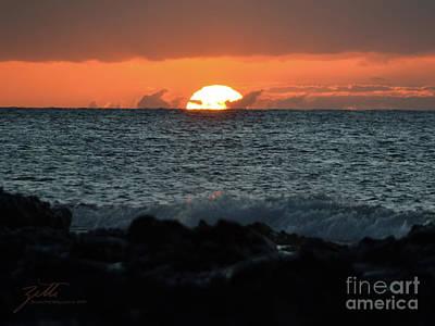 Photograph - Solar Splash Down by Suzette Kallen