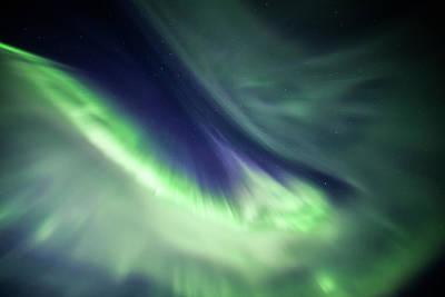 Photograph - Solar Storm I by Sebastian Worm