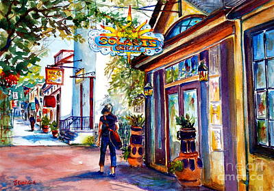 Philadelphia Pa Painting - Solaris Grille by Joyce A Guariglia