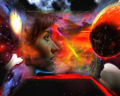 Digital Art - Solaris Perspective by Mario Carini