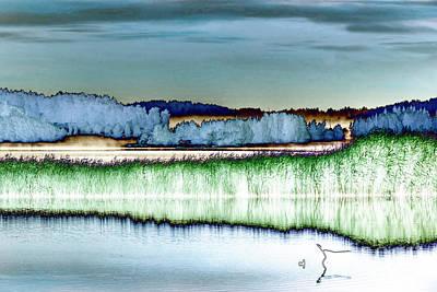 Landscapes Mixed Media - Solarisation by Veikko Suikkanen