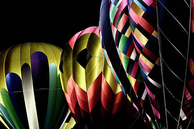 Balloon Photograph - Solarized Balloons by David Patterson