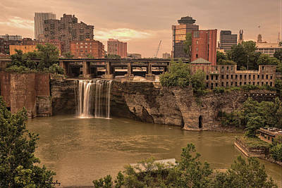 Sold - Good Morning Rochester - Thank You Art Print by Hany J