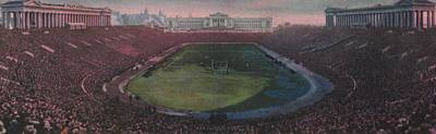 Chicago Bears Painting - Soldier Field by American School