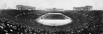 Soldier Field, Chicago, Illinois, Circa Art Print by Everett