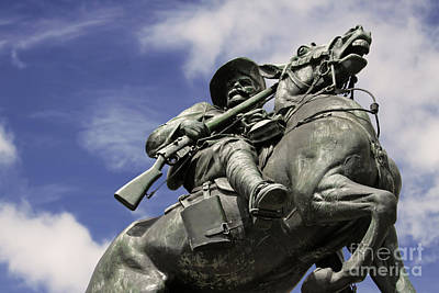 Art Print featuring the photograph Soldier In The Boer War by Stephen Mitchell