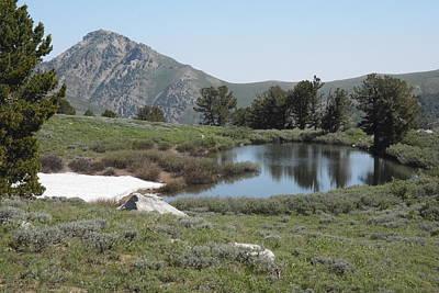 Photograph - Soldier Lake And Peak by Jenessa Rahn