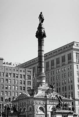 Photograph - Soldiers And Sailors Monument Study 2 by Robert Meyers-Lussier