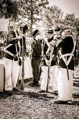 Photograph - Soldiers At Rest  by Debra Forand