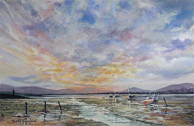 Painting - Soldiers Point, Dundalk by Marty Garland