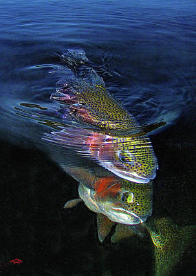 Rainbow Trout Photograph - Sole Mates by Brian Pelkey