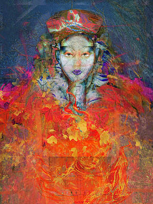 Digital Art - Soul Of The Past by Judith Barath