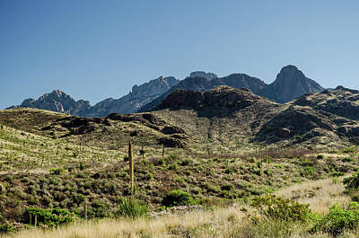 Photograph - Soledad Canyon Mountainscape by Allen Sheffield