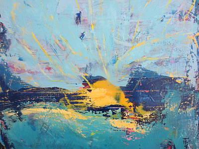 Painting - Soleil De Joie, Extrait by Francine Ethier