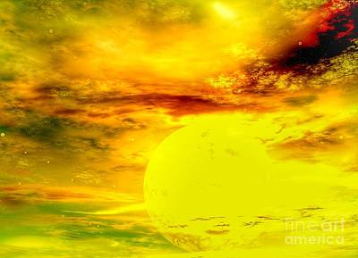 Digital Art - Soleil by Isabella F Abbie Shores