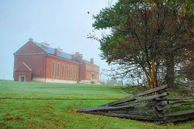 Photograph - Solemn Morning - Fort Smith National Historic Site  by Gregory Ballos