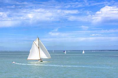 Western Art - Solent Sailing by Hazy Apple
