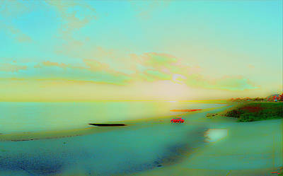 Photograph - Solent Sunset II by Jan W Faul