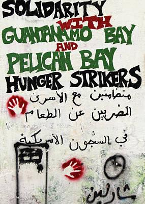 Photograph - Solidarity With Guantanamo Bay by Munir Alawi