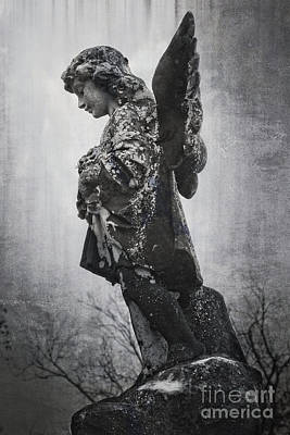 Photograph - Solitary Angel by Ella Kaye Dickey