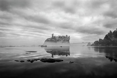 Olympic National Park Photograph - Solitary Beach by Jon Glaser